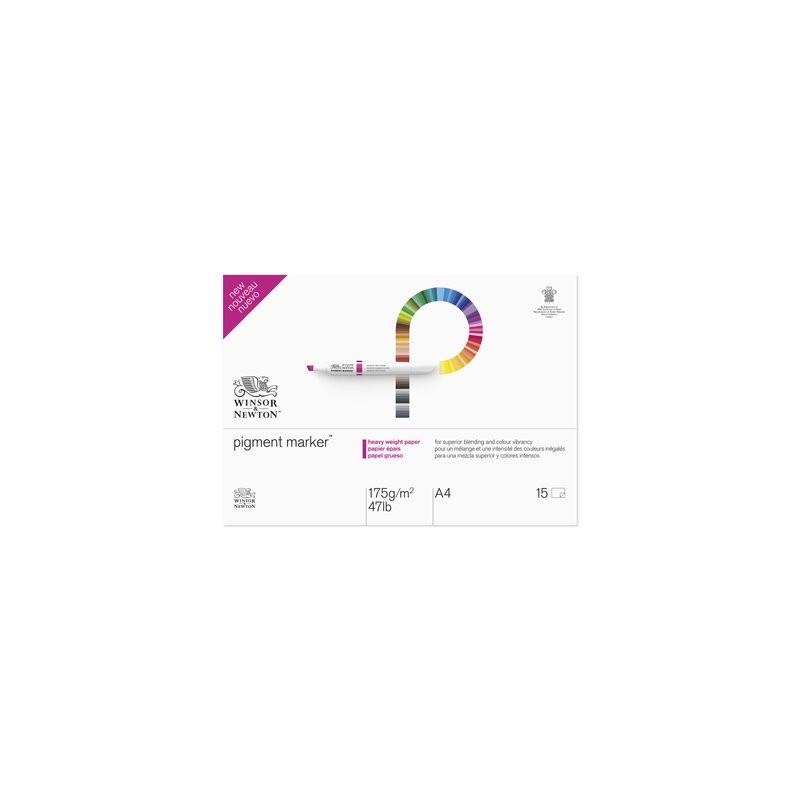 Markerblock Winsor & Newton Pigment marker A3 175 g 15ark