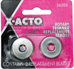 Skärblad X-ACTO DS Rotary Trimmr 2pk Blade 18/1485 Utgår